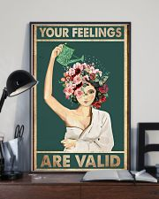 Your feelings are valid 11x17 Poster lifestyle-poster-2