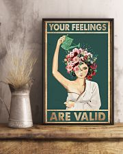 Your feelings are valid 11x17 Poster lifestyle-poster-3