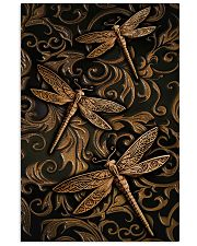 Dragonflies Faux Wood Print  11x17 Poster front