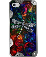 Colorful Dragonflies Metal Pattern Print  Phone Case i-phone-8-case