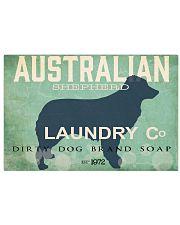 Australian Shepherd laundry company 17x11 Poster front
