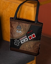 Gamer's life All-over Tote aos-all-over-tote-lifestyle-front-02