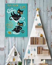 Mix your gin with catz 11x17 Poster lifestyle-holiday-poster-2