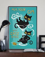 Mix your gin with catz 11x17 Poster lifestyle-poster-2