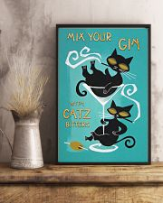 Mix your gin with catz 11x17 Poster lifestyle-poster-3