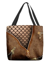 Mermaid scale All-over Tote back