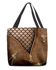 Mermaid scale All-over Tote front