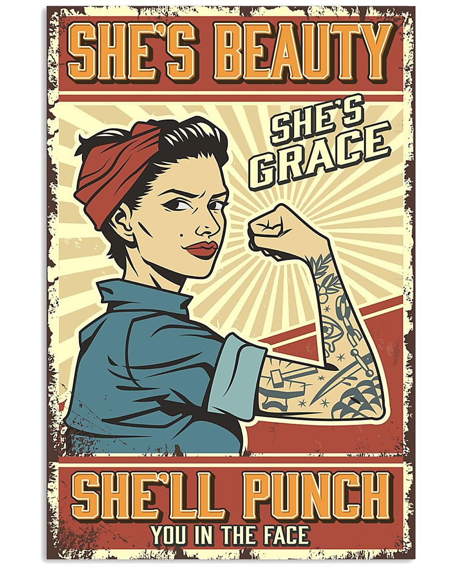 She's beauty She's grace 11x17 Poster