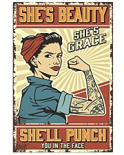 She's beauty She's grace 11x17 Poster front