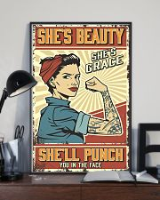 She's beauty She's grace 11x17 Poster lifestyle-poster-2