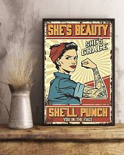 She's beauty She's grace 11x17 Poster lifestyle-poster-3
