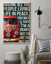 Imagine all the people living life in peace 11x17 Poster lifestyle-poster-1