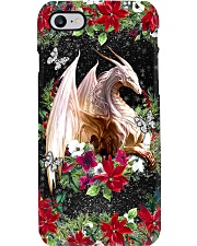 Xmas Dragon Phone Case i-phone-8-case