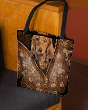 Dachshund All-over Tote aos-all-over-tote-lifestyle-front-02