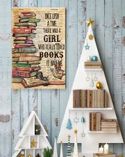 Once upon the time there was a girl loved books 11x17 Poster lifestyle-holiday-poster-2