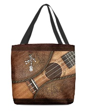 Love guitars  All-over Tote back