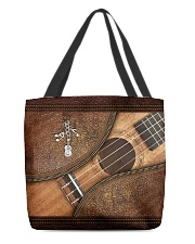 Love guitars  All-over Tote front