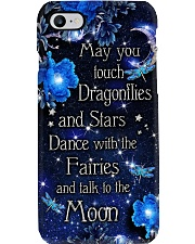 May you touch dragonflies printed phone case  Phone Case i-phone-8-case