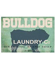 Bulldog laundry company 17x11 Poster front