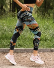 And Into The Forest I Go High Waist Leggings aos-high-waist-leggings-lifestyle-15