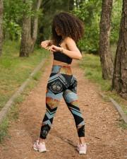 And Into The Forest I Go High Waist Leggings aos-high-waist-leggings-lifestyle-17