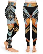 And Into The Forest I Go High Waist Leggings front
