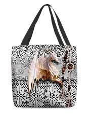 Love dragon All-over Tote back