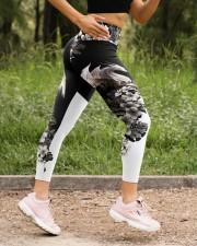 White Dragon Floral High Waist Leggings aos-high-waist-leggings-lifestyle-15