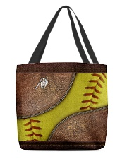 Softball mom All-over Tote front