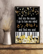 And into the music I go 11x17 Poster lifestyle-poster-3