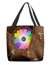 In a world where you can be anything be kind All-over Tote back