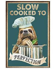 Slow cooked funny kitchen decor 11x17 Poster front