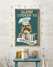 Slow cooked funny kitchen decor 11x17 Poster lifestyle-holiday-poster-3