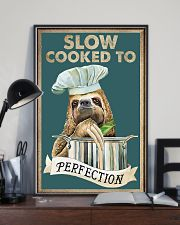 Slow cooked funny kitchen decor 11x17 Poster lifestyle-poster-2