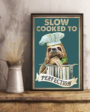 Slow cooked funny kitchen decor 11x17 Poster lifestyle-poster-3