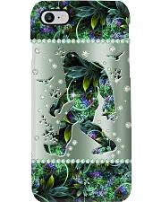 Bigfoot Metal Pattern Print Phone Case i-phone-8-case