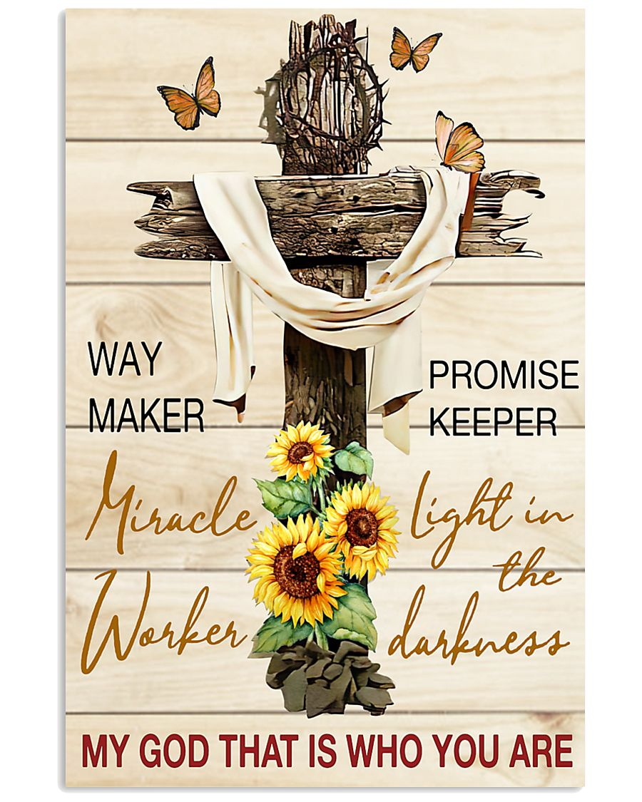 Way maker miracle worker promise keeper 11x17 Poster