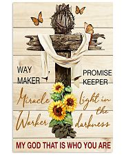 Way maker miracle worker promise keeper 11x17 Poster front