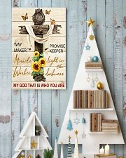 Way maker miracle worker promise keeper 11x17 Poster lifestyle-holiday-poster-2