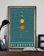 Solar system space 11x17 Poster lifestyle-poster-2