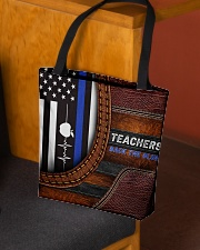 Teachers back the blue All-over Tote aos-all-over-tote-lifestyle-front-02