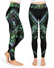 Green Dragon High Waist Leggings front
