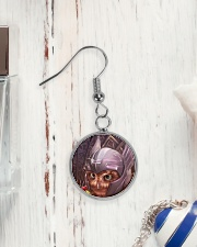 ThorOwl Circle Earrings aos-earring-circle-front-lifestyle-1