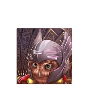 ThorOwl Square Magnet thumbnail
