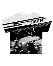 Drum music 3d shirt for men and women HG HAC71201 All-over T-Shirt front