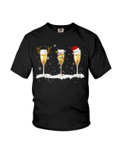 White Wine Glass Youth T-Shirt tile
