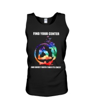 Find Your Center Unisex Tank thumbnail