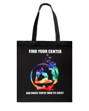 Find Your Center Tote Bag thumbnail