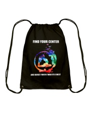 Find Your Center Drawstring Bag thumbnail