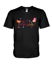 Love Wine  V-Neck T-Shirt thumbnail